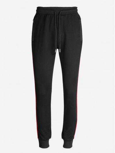 ZAN.STYLE Men Sweatpants - Black 2xl
