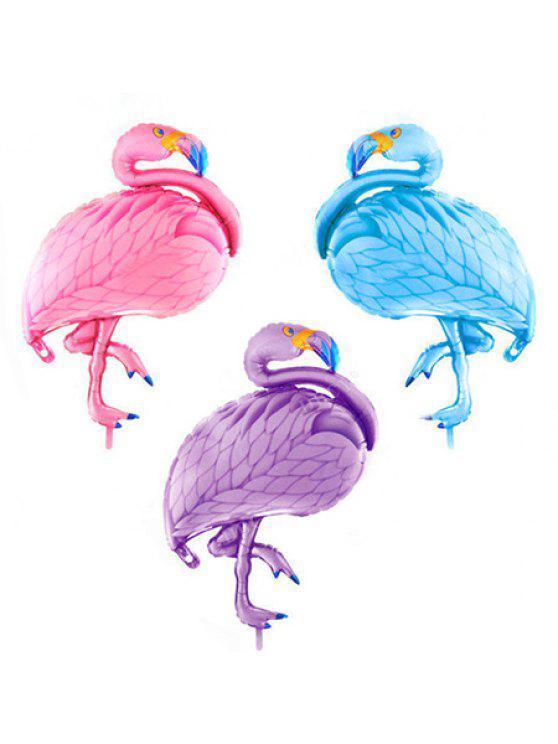 fancy Large Size Flamingo Shape Aluminum Film Balloon Kids Birthday Party Wedding Decoration 1PC - COLORMIX