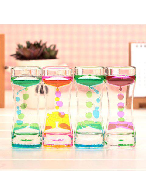 outfit Floating Liquid Motion Timer Decoration Toy for Desk 1PC - COLORMIX  Mobile