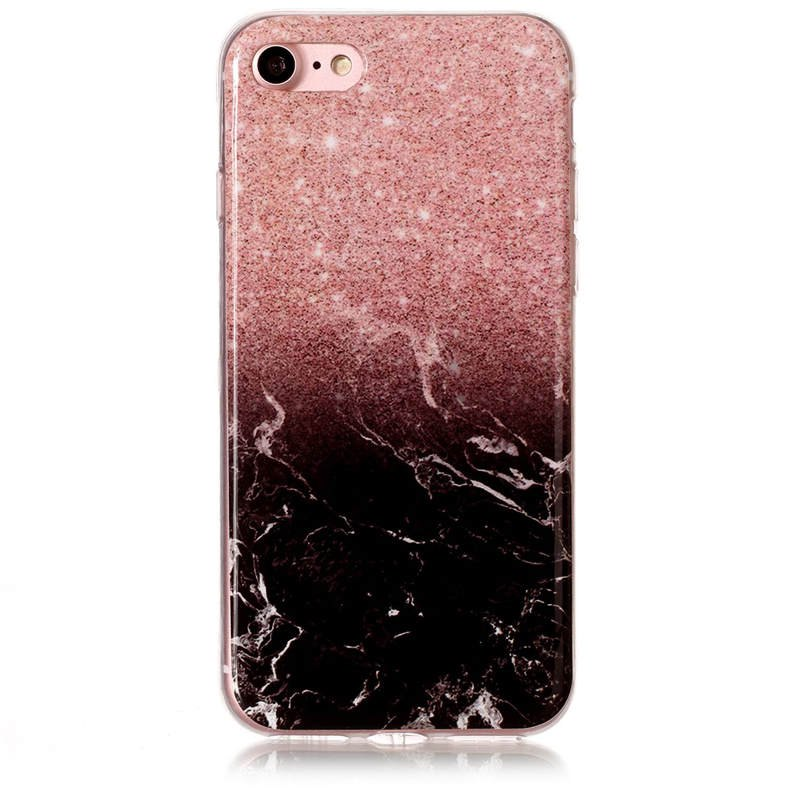 TPU Shock proof Marble Pattern Full Cover Protective Case for iPhone 8 7 231404101