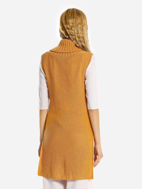 ZAN.STYLE Sleeveless Sweater Jumper Skirt - ジンジャー S Mobile