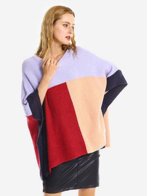 ZANISTYLEゆったりケープセーター - 多色 ワンサイズ Mobile