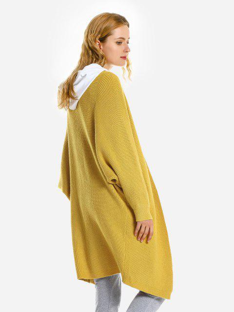 Maglione Sciolto Grafico - Giallo  Mobile