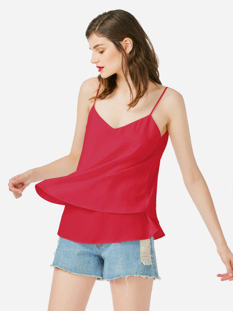 Camisole - Rouge L Mobile