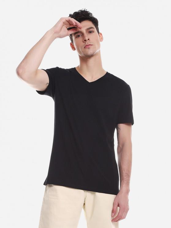 women's ZAN.STYLE T Shirt - BLACK XL