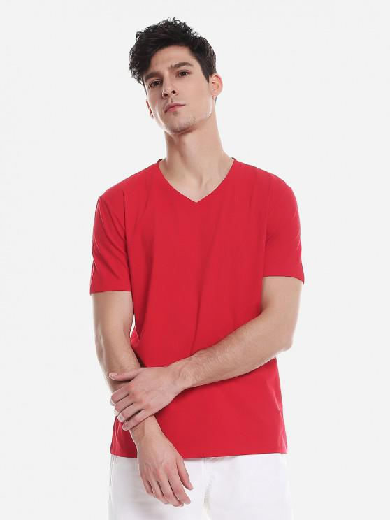 outfits ZAN.STYLE T Shirt - RED 2XL