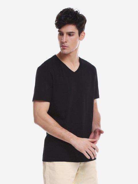 ZANSTYLE Camiseta para Hombre - Negro XL Mobile