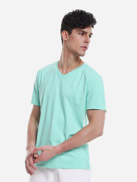 ZANSTYLE Camiseta para Hombre - Verde XL Mobile