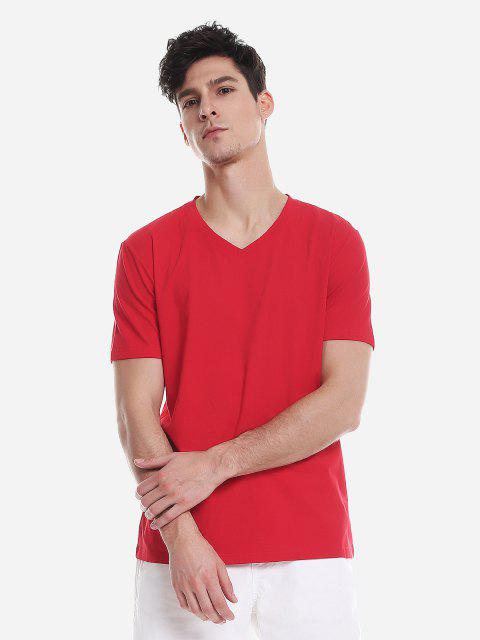 ZANSTYLE Camiseta para Hombre - Rojo XL Mobile