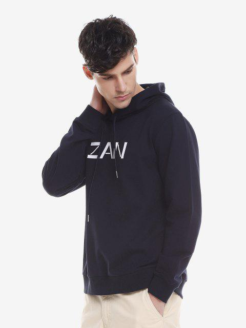 ZAN.STYLE Sport Casual Pullover Hoodie - 王室的 XL Mobile