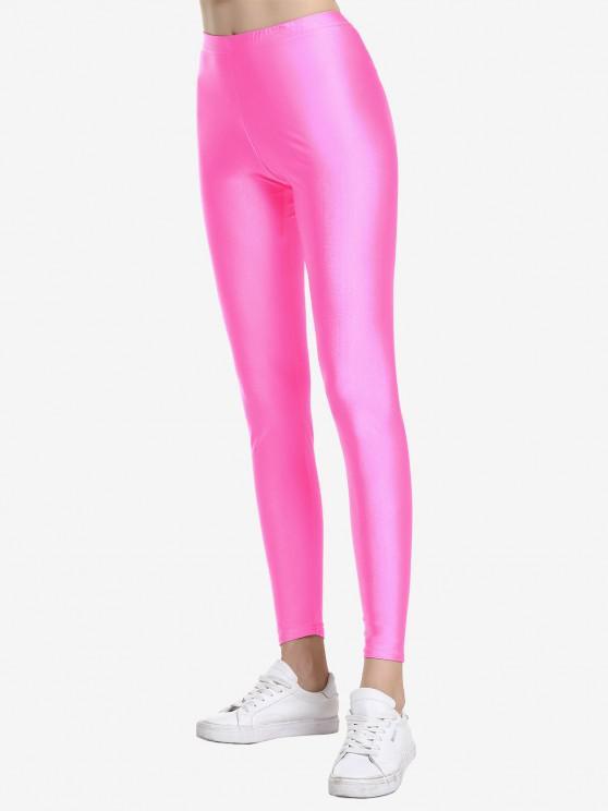 ZAN.STYLE altura de la cintura polainas - Rosa Roja S