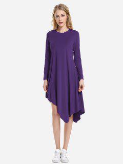 ZAN.STYLE Long Sleeve Dress - Concord M