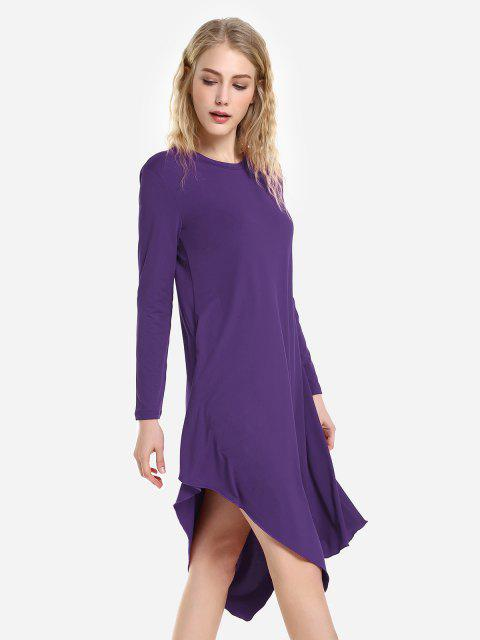 womens ZAN.STYLE Long Sleeve Dress - CONCORD S Mobile