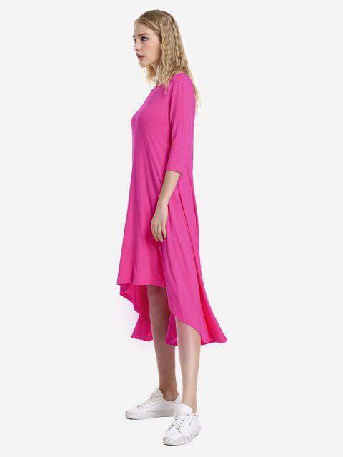 ZAN.STYLE High Low Hem Dress - Tutti Frutti M Mobile