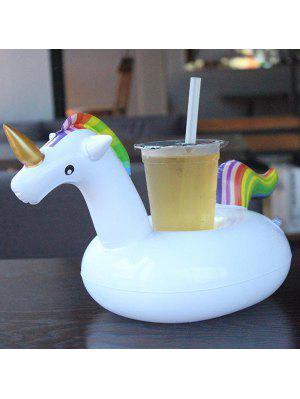 Schöne Aufblasbare Getränkehalter Schwebendes Einhorn Form Matte