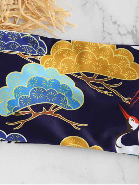 Bikini A Fascia Di ZAFUL Con Stampa Uccelli - Bianca L Mobile