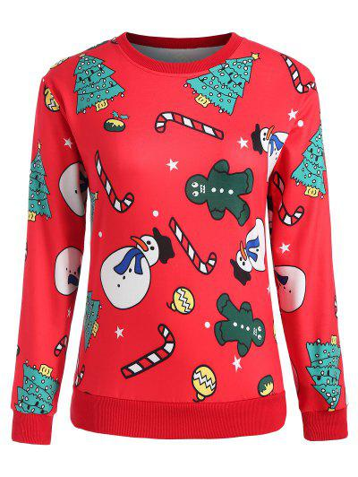 Plus Size Christmas Sweatshirt
