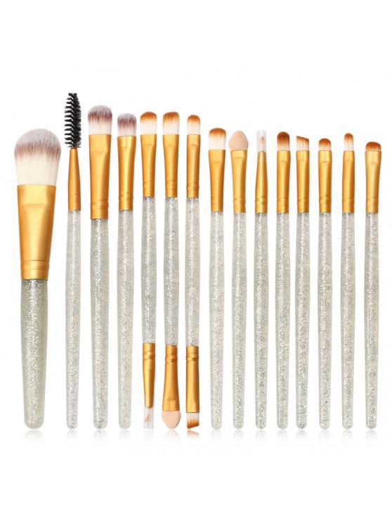 MAANGE MAG5735 Maquiagem Pincel Conjunto Flash Broca Lidar Com Maquiagem Ferramenta - Transparente