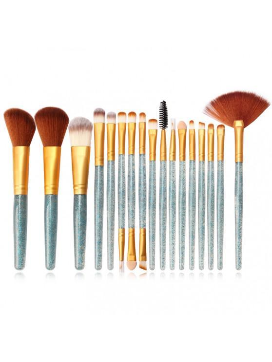 MAANGE MAG5734 Flash Diamond Maquiagem Jogo de escova Make Up Tool - Koi Azul