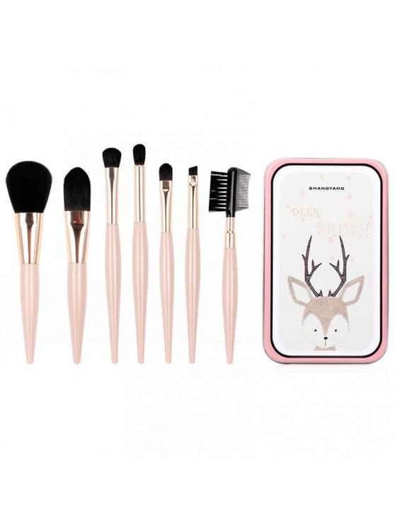 Escova de maquiagem SHANGYANG A46 - Rosa