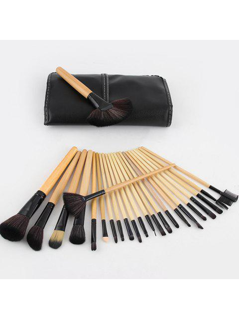 unique Makeup Brushes Set Premium Synthetic Foundation Blending Face Powder Concealers Eye Shadows Make Up Tools Kit - VANILLA  Mobile