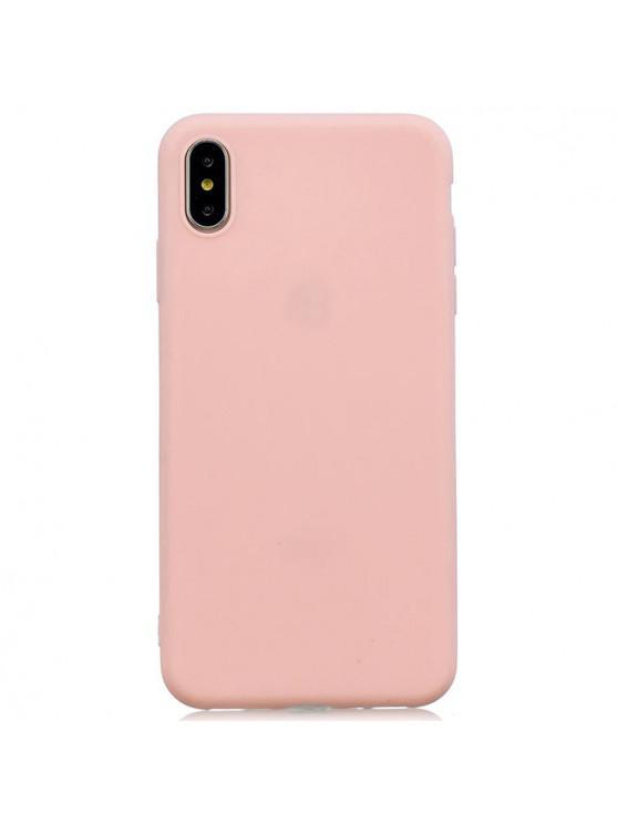 Чехол для телефона серии TPU Candy для iPhone XS Max - Светло-розовый