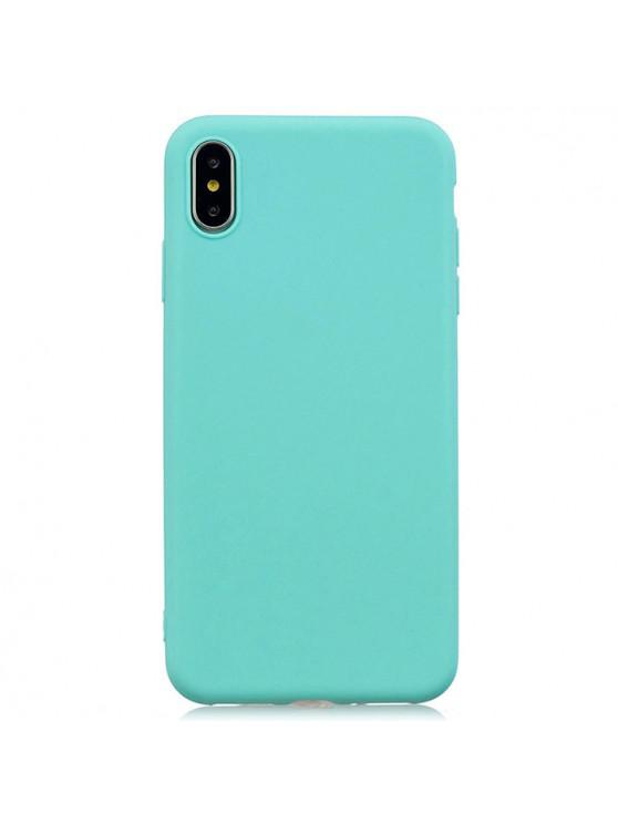best TPU Candy Series Phone Case for iPhone XS Max - CELESTE