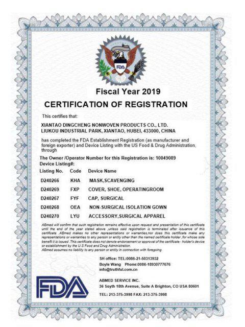 50PZ Mascherine ChirurgicheMonouso Antipolverecon FDA CE Certificazione - Blu Scuro del Cielo  Mobile