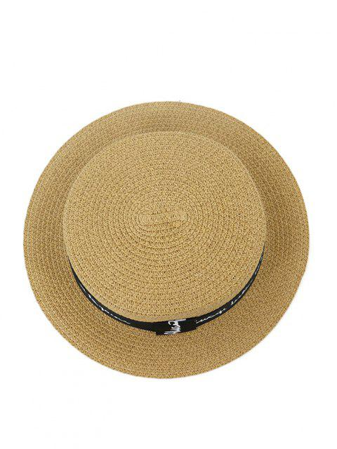 XPD001Vacanze Cappello da Spiaggia Cappello per Uomo e Donna Cappello Piatto - Cachi  Mobile