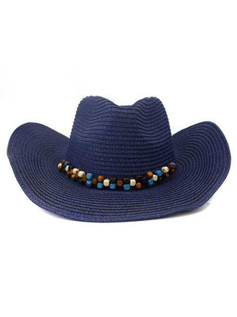 outfit NZCM092 Cowboy Hat Seaside Beach Hat Male Outdoor Sun Hat - CADETBLUE  Mobile