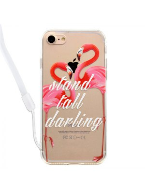Flamingo Pattern High-definition Mobile Phone Cover for iPhone 7