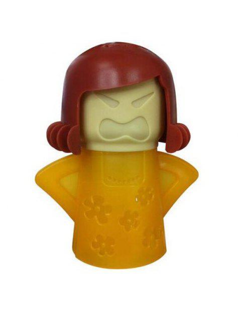 Kreative Nette Angry Mom Gummi Mikrowelle Dampfreiniger Küchenzubehör - Gelb  Mobile
