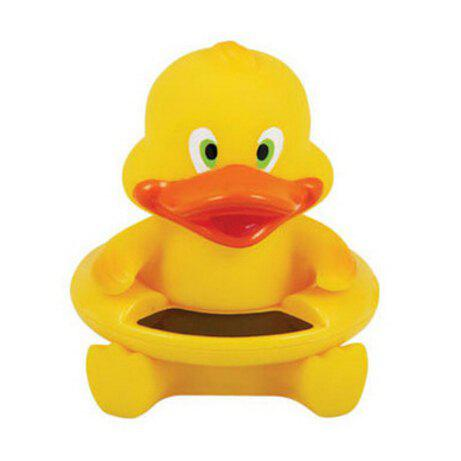 Cute Duck Pattern Baby Bath Floating Toy Tub Thermometer Water Temperature Tester 221130901
