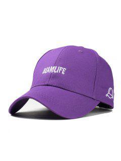Fashion Unisex Classic Trucker Baseball Golf Mesh Cap Hat Vintage Question Mark Women Men Hip-hop - Purple