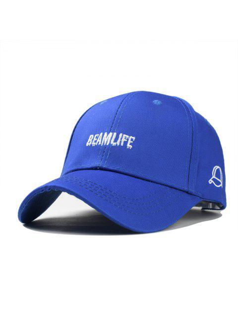 shop Fashion Unisex Classic Trucker Baseball Golf Mesh Cap Hat vintage question mark women men hip-hop - BLUE  Mobile