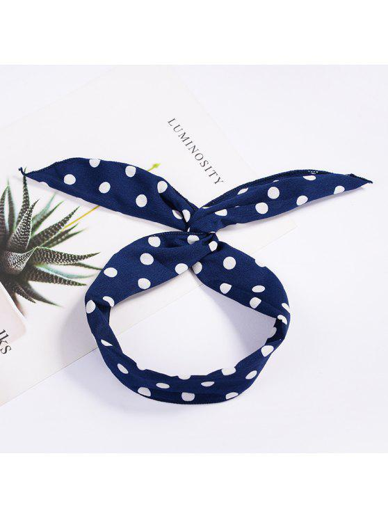 fancy Fashion Plaid Knot Headband Turban Elastic Hairband Head Wrap Hair Accessories for Women Girls Striped Headwear Accessories - #002
