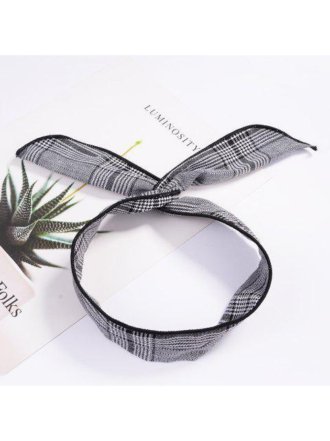 buy Fashion Plaid Knot Headband Turban Elastic Hairband Head Wrap Hair Accessories for Women Girls Striped Headwear Accessories - #006  Mobile