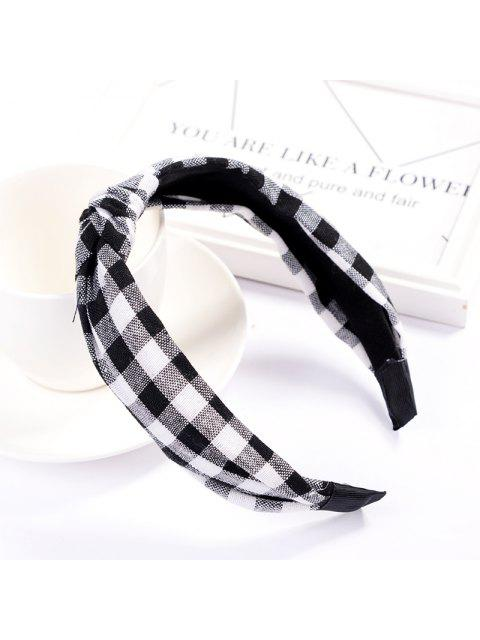 latest Girl Colorful Nylon Velvet Knot Headband Hair Holder Ornament Children Hairband Hair Accessories Kids Hair Band - BLACK  Mobile