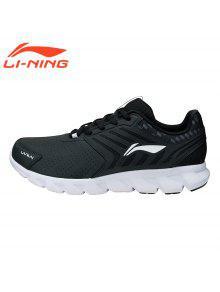 لى نينغ قوس سلسلة الرجال الاحذية أحذية رياضية للرجال ARHM023-4 - أسود 10
