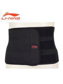 لى نينغ المهنية دعم حزام ADEM008-1 الأساسية - أسود