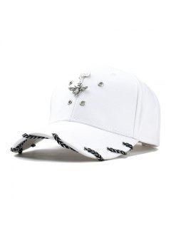 Fashion Unisex Classic Trucker Baseball Golf Mesh Cap Hat Vintage Question Mark Women Men Hip-hop Cap - White