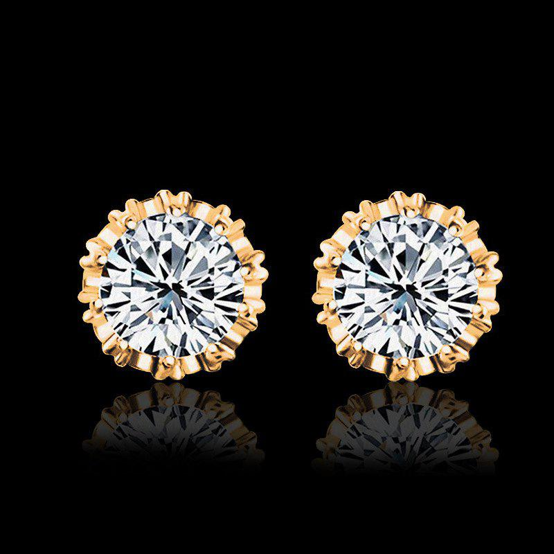 Women Stud Earrings Crystal Stud Earrings Women casual Party Earring Girls Gift Earrings
