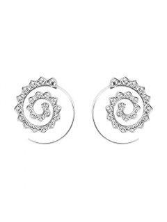 Fashion Hoop Earrings Set Party Jewerly Set Jewerly Gift Big Hoop Earrings Women Girls Wedding Party Jewelery - #003