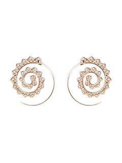 Fashion Hoop Earrings Set Party Jewerly Set Jewerly Gift Big Hoop Earrings Women Girls Wedding Party Jewelery - #004