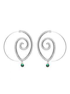 Fashion Hoop Earrings Set Party Jewerly Set Jewerly Gift Big Hoop Earrings Women Girls Wedding Party Jewelery - #005