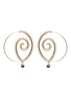 Fashion Hoop Earrings Set Party Jewerly Set Jewerly Gift Big Hoop Earrings Women Girls Wedding Party Jewelery - #006