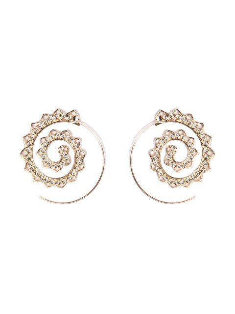 affordable Fashion Hoop Earrings Set Party Jewerly Set Jewerly Gift Big Hoop Earrings Women Girls Wedding Party Jewelery - #004  Mobile