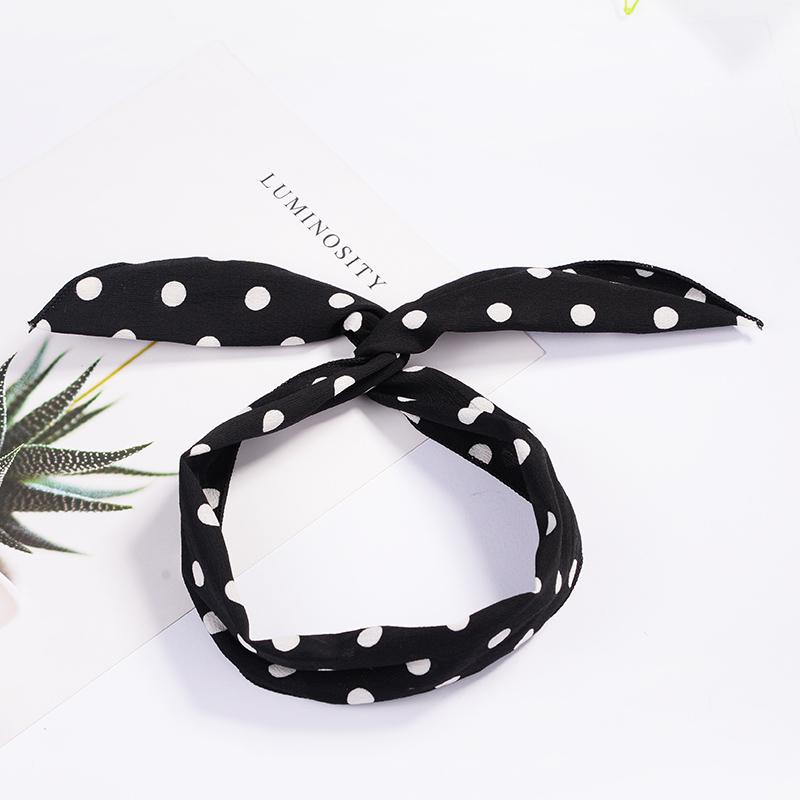 Fashion Plaid Knot Headband Turban Elastic Hairband Head Wrap Hair Accessories for Women Girls Striped Headwear Accessories