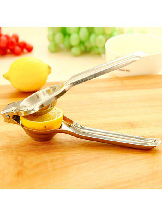 Macroart Stainless Steel Lemon Clip - Argent