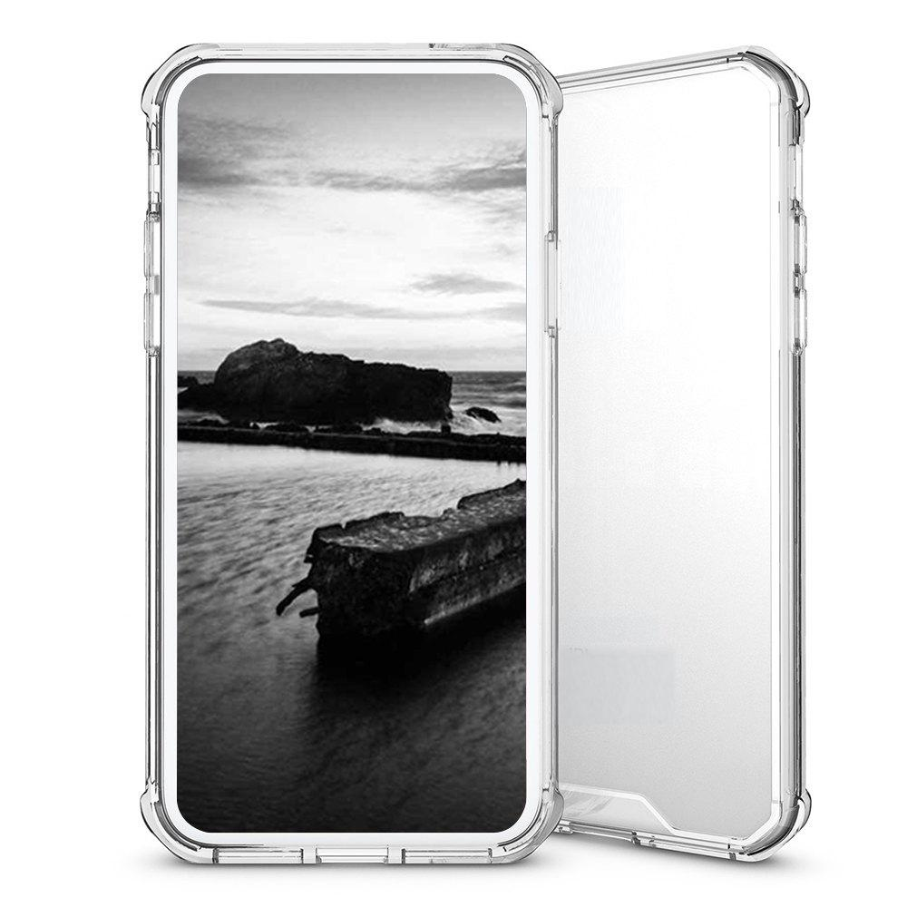 Armor Transparent Clear TPU Shockproof Case for iPhone X Scratch Resistant Fit Thin Slim PC Hard Panel 224698904